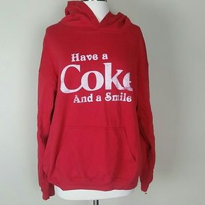 Coca-Cola sweatshirt goodie xl